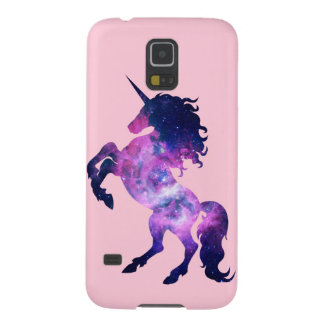Space unicorn galaxy s5 cover
