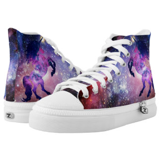 Space unicorn High-Top sneakers