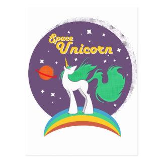 Space Unicorn Postcard