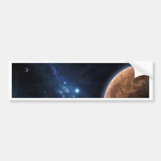 Space Universe Bumper Sticker