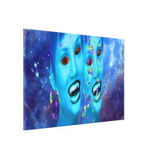 Space Vampires Canvas Print