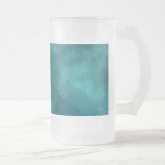 Space Views Frosted Glass Beer Mug