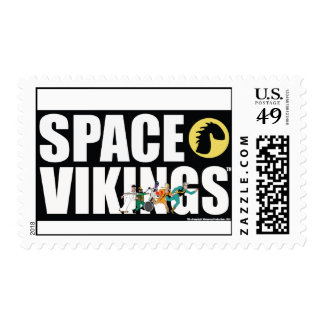 Space Vikings Bold Font Stamp