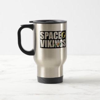 Space Vikings Large Font Travel Mug