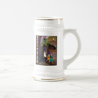 """Space Vikings """"Lost in Amazonia"""" Stein Gold Rimmed"""