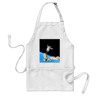 space walk astronaut international space station adult apron