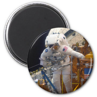 Space walk refrigerator magnets
