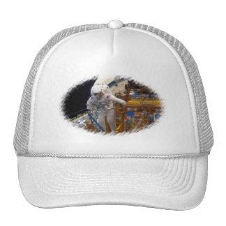 Space walk trucker hat