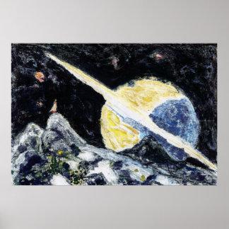 Space Wanderer Art Print