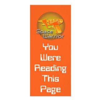 Space Warrior Bookmark Template Rack Card