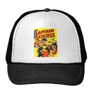 Space Warrior Vintage Science Fiction Comic Trucker Hats