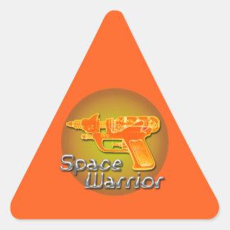 Space Warrrior Triangle Sticker