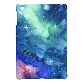 Space Watercolor Art Case Cover For The iPad Mini