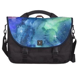 Space Watercolor Art Commuter Bag