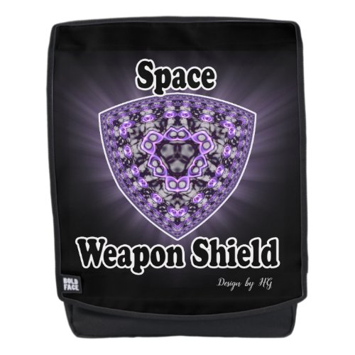 Space weapon shield Backpack