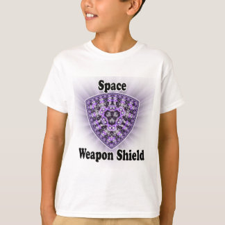 Space Weapon Shield T-shirts