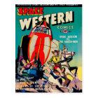 Space Western Comics Postcard