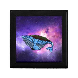 space whale keepsake box