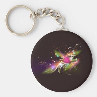 Space Wings Vector Art Key Chains