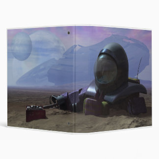Space Wrecked Binder