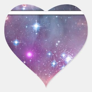 Spacebot Heart Sticker