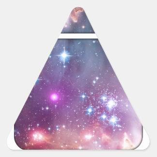 Spacebot Pegatina Triangular