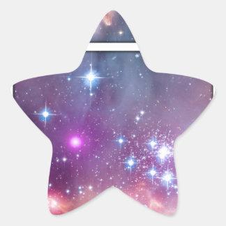 Spacebot Star Sticker