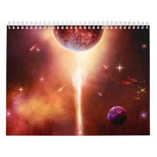 Spacecapes de Susan G Calendarios