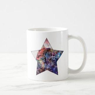 SpaceCat Star Coffee Mug