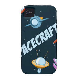 Spacecraft and rockets Case-Mate iPhone 4 funda