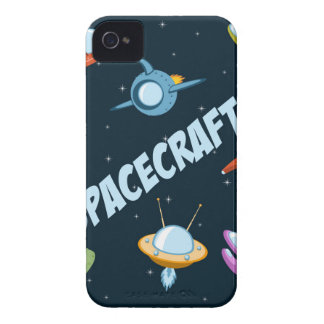 Spacecraft and rockets iPhone 4 protector