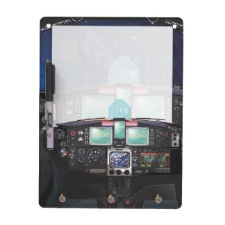 Spacecraft Console Dry-Erase Board