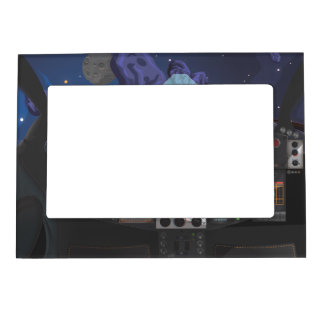 Spacecraft Console Magnetic Frame