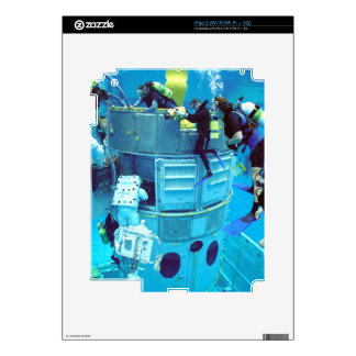 Spacecraft Hubble Training Decal For iPad 2