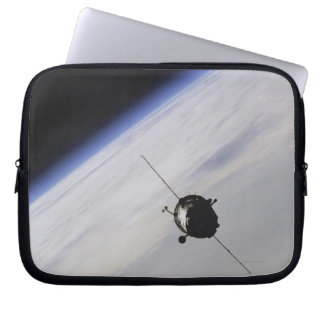 Spacecraft in outer space laptop computer sleeves