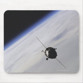 Spacecraft in outer space mouse pad