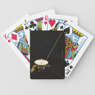 Spacecraft in Space Bicycle Playing Cards
