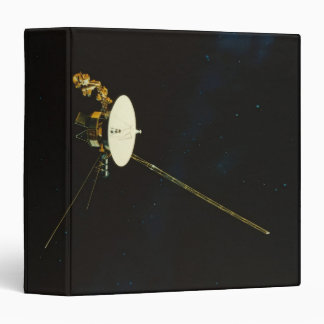 Spacecraft in Space Binder