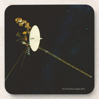 Spacecraft in Space Drink Coaster