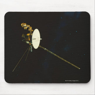 Spacecraft in Space Mouse Pad