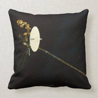 Spacecraft in Space Throw Pillow