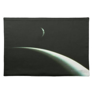 Spacecraft Over Neptune Cloth Placemat