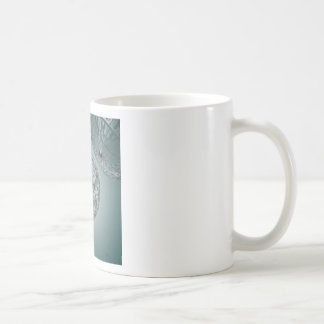 Spaced out 3d design classic white coffee mug