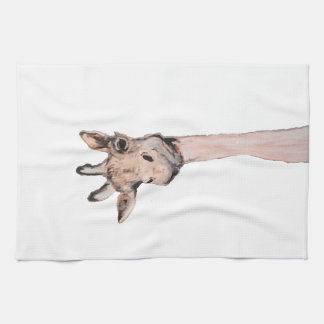 """""""Spaced-Out Giraffe"""" 16 x 24 inch Kitchen Towel"""