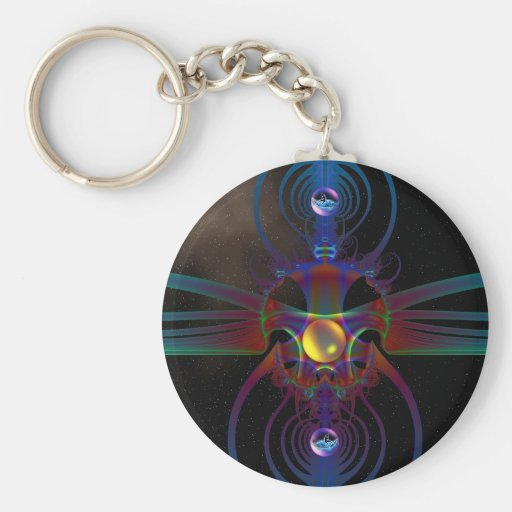 Spaced Out Keychain