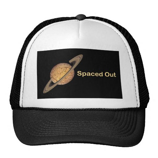 Spaced Out Mesh Hats