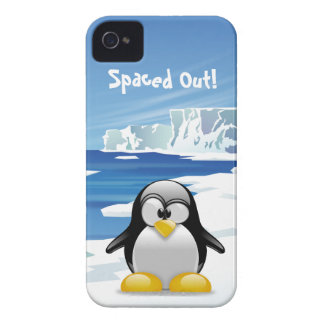 Spaced Out Penguin iPhone 4 Cover