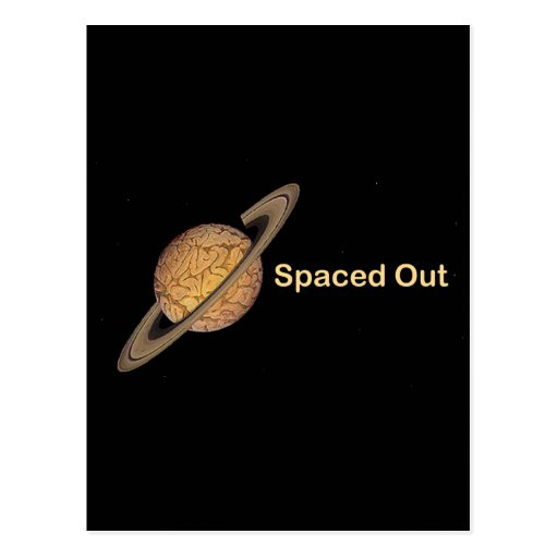 Spaced Out Postcard