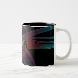 Spaced Out Two-Tone Coffee Mug