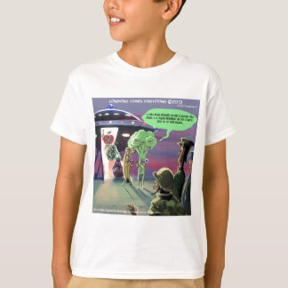 Spaced Out Vegan Funny T-Shirt
